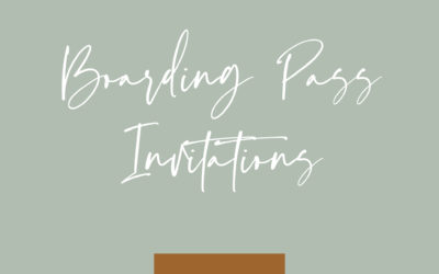 The perfect invitation for your destination wedding